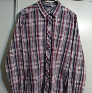 Travis Mathew Mens Size Large Casual Button Down